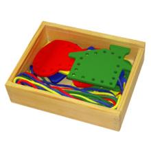 Juguete de madera de laca con diferentes formas (80164-2)