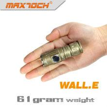 Maxtoch Wand. E 450 Lumen 16340 Li-Ion Mini LED Taschenlampe Schlüsselanhänger