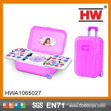 Высокое качество сделать UP моды девочек красоты играть Set игрушки чемодан