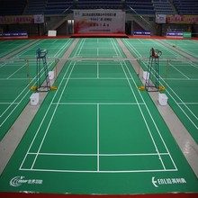 BWF Certified Badminton Flooring Court Fliesen