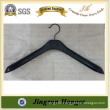 Fashion Black Plastic Suit Hanger / coat hanger