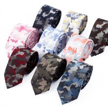 Corbatas de seda militares de encargo de Camo del italiano de los hombres