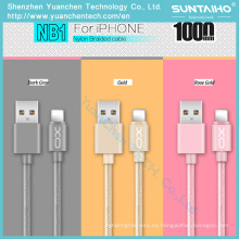 Cable USB de sincronización de datos de carga rápida tipo C Cable