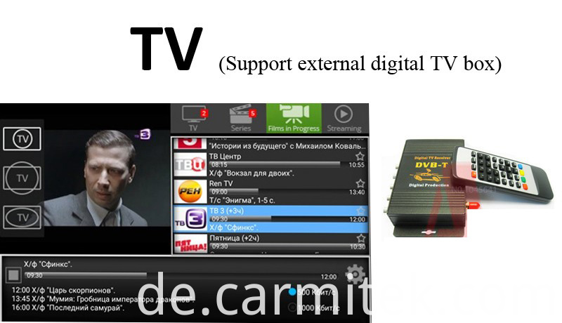 dvb-t carimite audi a3 android stereo