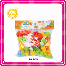 70 PCS Educational Early Learning Plastic Block Toy