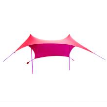 Abri solaire portatif de plage d'abri solaire de tente légère