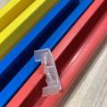 plastic rails automatic filling machine spout cap