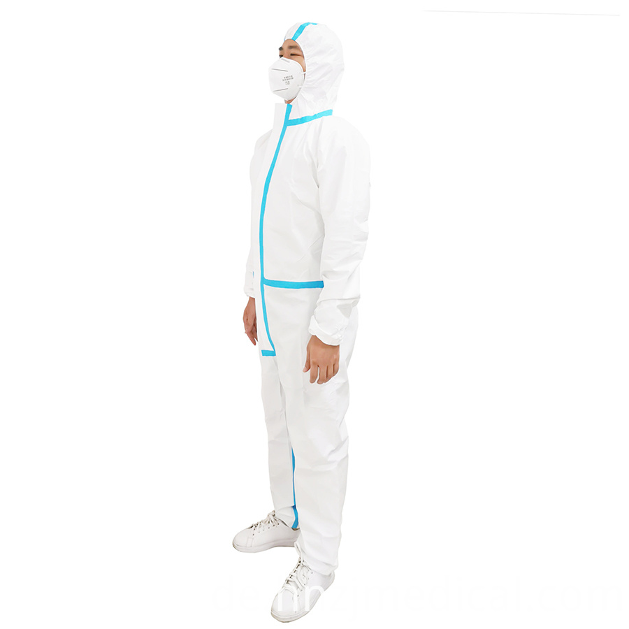 Protective clothing Disposable Coverall suit