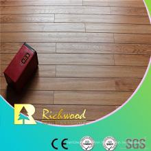 12mm E0 HDF AC4 Embossed Hickory V-Grooved Laminate Flooring