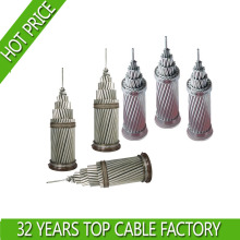 ACSR Bare Stranded Aluminum Conductor Used as Bare Overhead Transmission