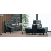 Modern restaurant table and booth sofa XYN930
