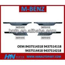 Excelente quanlity Mercedes Benz camión GRILLE Mercedes Benz partes del cuerpo 9437514218 9437514418