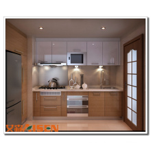 Gabinete de cocina laminado Formica de nueva moda