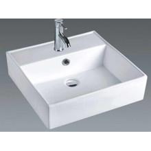 Casa de banho Contador quadrado bacia cerâmica (7094)