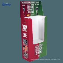 High Quality Cloth Store Display Cardboard Clothing Laundry Rack