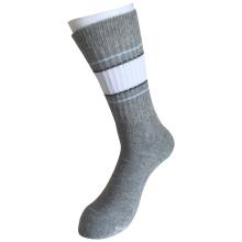 Media cojín de algodón de moda al aire libre deporte rayas calcetines (jmod03)