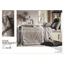 Textiles para el Hogar Jacquard funda de edredón de cama China fabricante