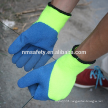 NMSAFETY latex coated personalized top thinsulate winter gloves