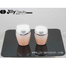 2016 good selling plastic airless cosmetic jars