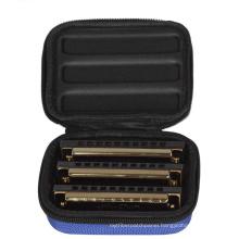 custom eva protective carrying harmonica case, musical Instruments case