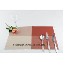 Обеденной столиков в ресторане тканые коврики ПВХ