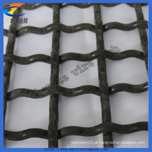 Galvanizado Crimped Square Weaving Wire Mesh