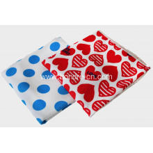 Hearts Printed Microfiber Bath Towel Beach Towel