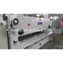 Máquina de cizallado de placa de aluminio qc11y-25 * 3200 / cnc cizalla hidráulica