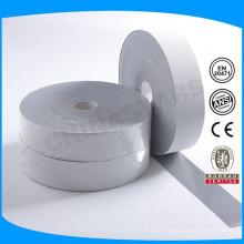 EN ISO 20471 material reflector elástico de dupla face