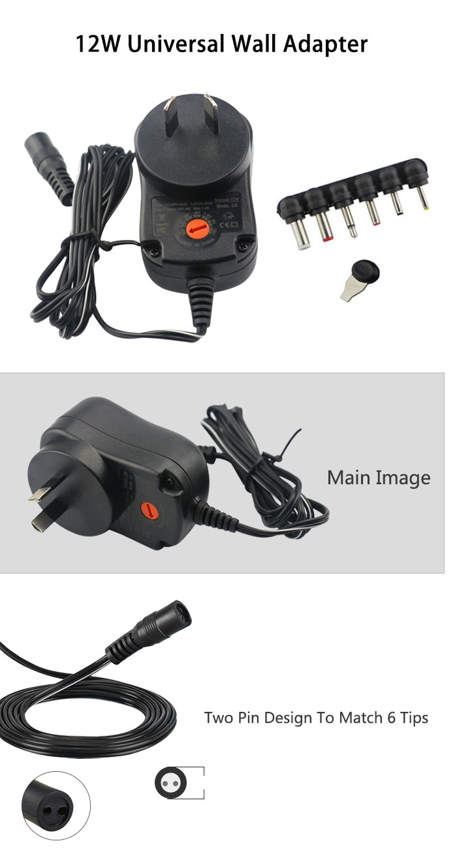 Au plug universal power adapter