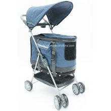 Porta-bagagem para animais de estimação Home Carrinho Carrinho de criança Pet Trolley