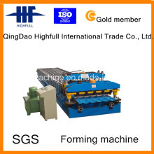 Glazed Colar Roof Tile Roll Forming Machine