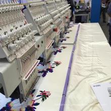 Máquina comercial Wy906c / Wy1206c do bordado do tampão da produção em massa
