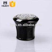 capuchon zamac noir avec peinture au diamant