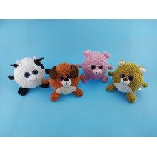 Cute Ball Shape Pets Toy Cow