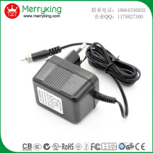 230V bis 6V 500mA AC-DC Linear Adapter mit Ce GS