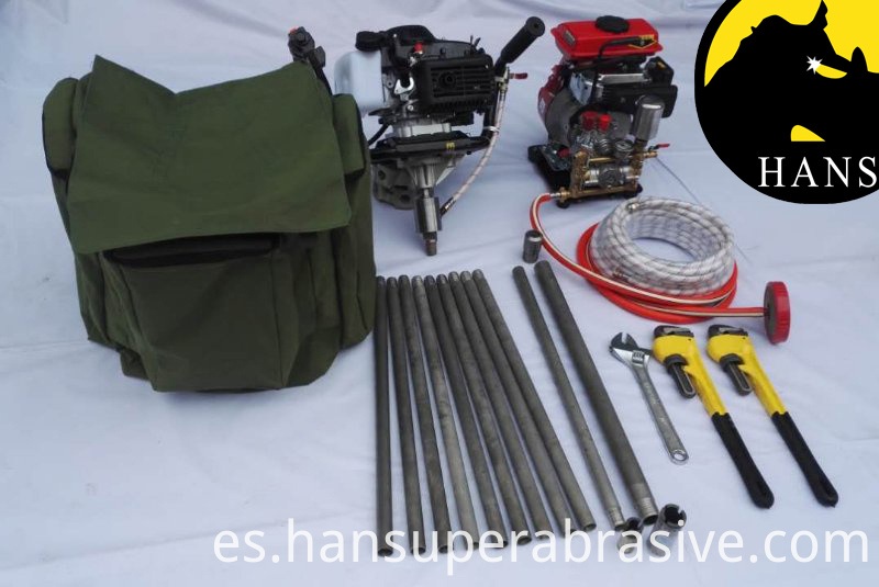 Shaw Portable Core Drill Equipment