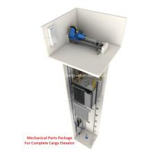 4: 1 Комплект механических деталей для грузовых лифтов