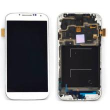De Buena Calidad Pantalla de teléfono móvil para Samsung S4 I9500 con marco LCD completo