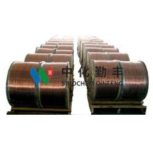 Kupfer verkleidet Al & Mg Draht (CCAM-15h / 15a)