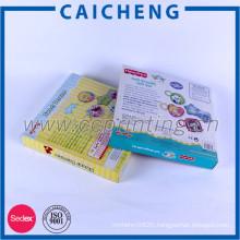 Custom logo printing square paper wrap toy packaging box