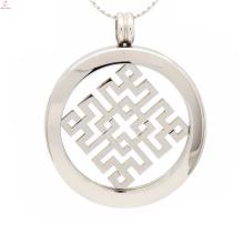 Unique necklace with coin pendant,coin pendants necklace holder