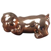 Керамическое ремесло в форме животных, керамическая собака