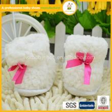 2015 100% Bio Baumwoll Winter Stiefel und Baby Schuhe für Mädchen