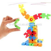 Blocos de construção de espuma de EVA 138pcs/Kisd Buiding blocos educação brinquedos para crianças
