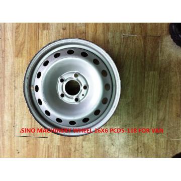 Steel Wheel Rim 16X6 for Van