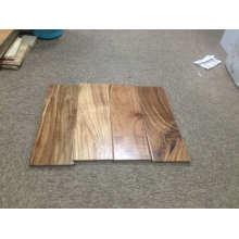 Revestimento de madeira largo da acácia Revestimento de brilho liso da prancha