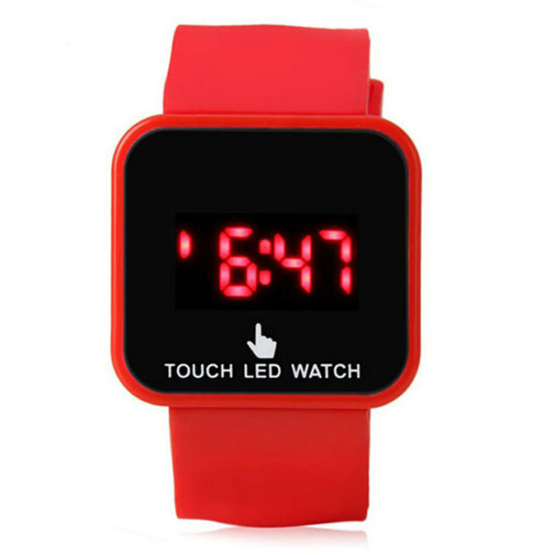 Multifunction Children Digital Wrist Jelly Led Watch