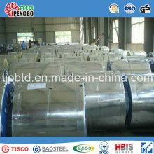 Bobina de acero galvanizado (SGCC, DX51D, ASTM A653)