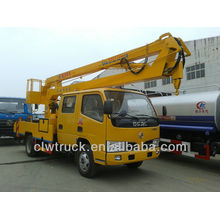 Good Performance Dongfeng FRK crew cab 12m overhead working truck